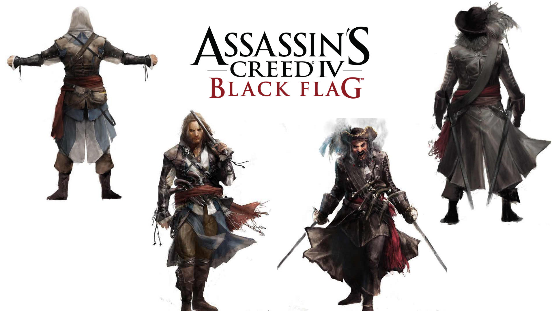 Assasins Creed IV Black Flag Wallpaper Wide