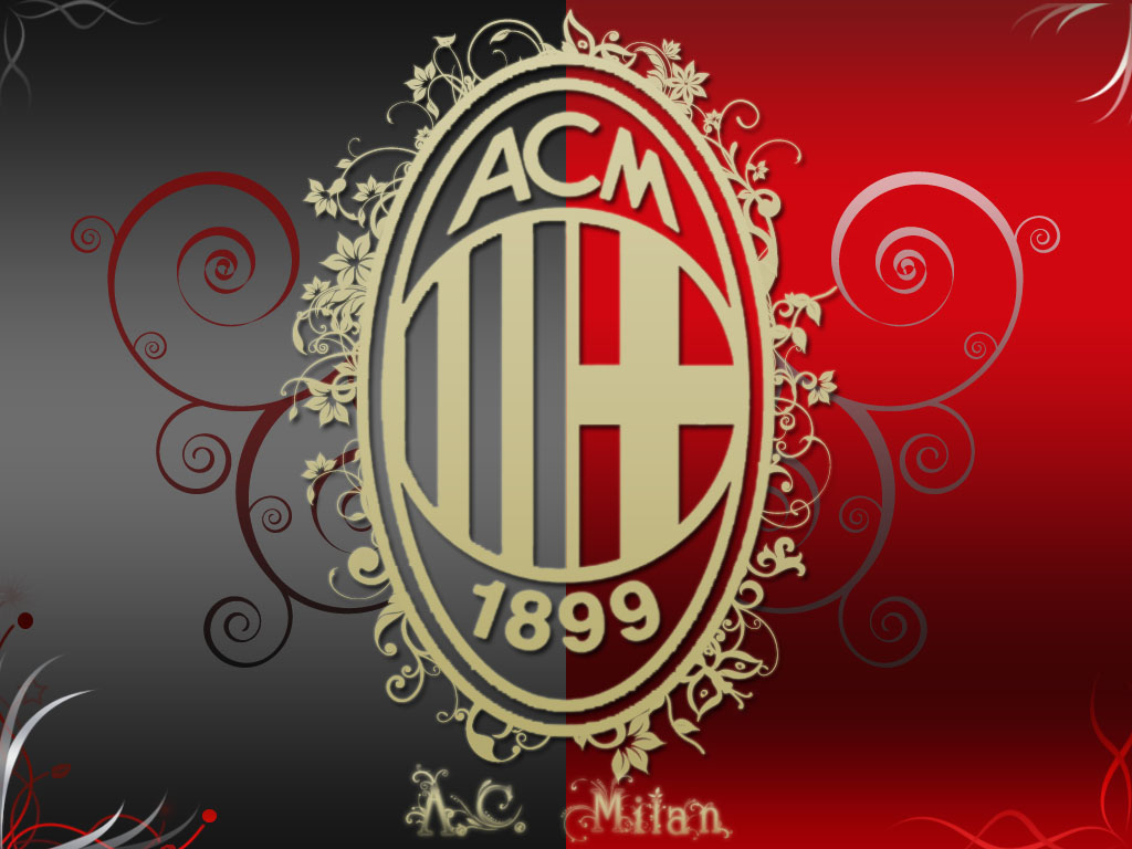 Awesome AC Milan Logo Wallpaper 09