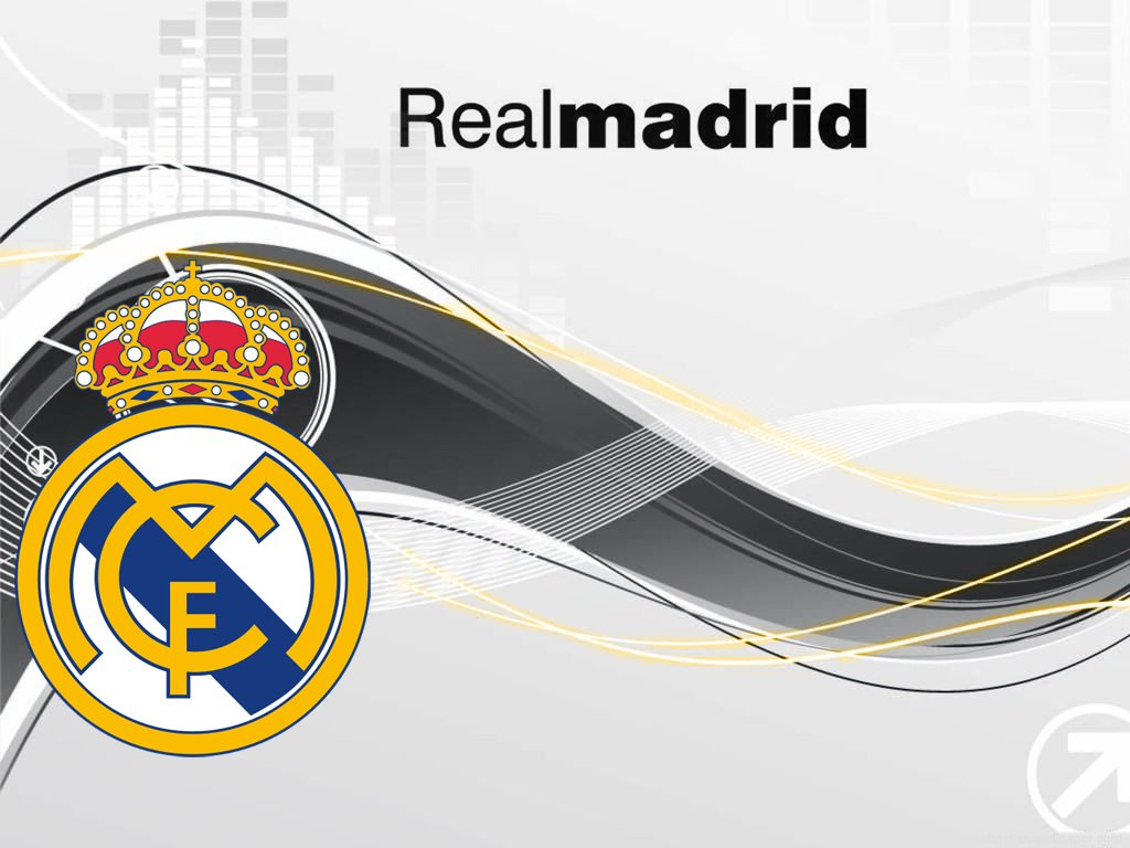 Awesome Real Madrid Logo Wallpaper