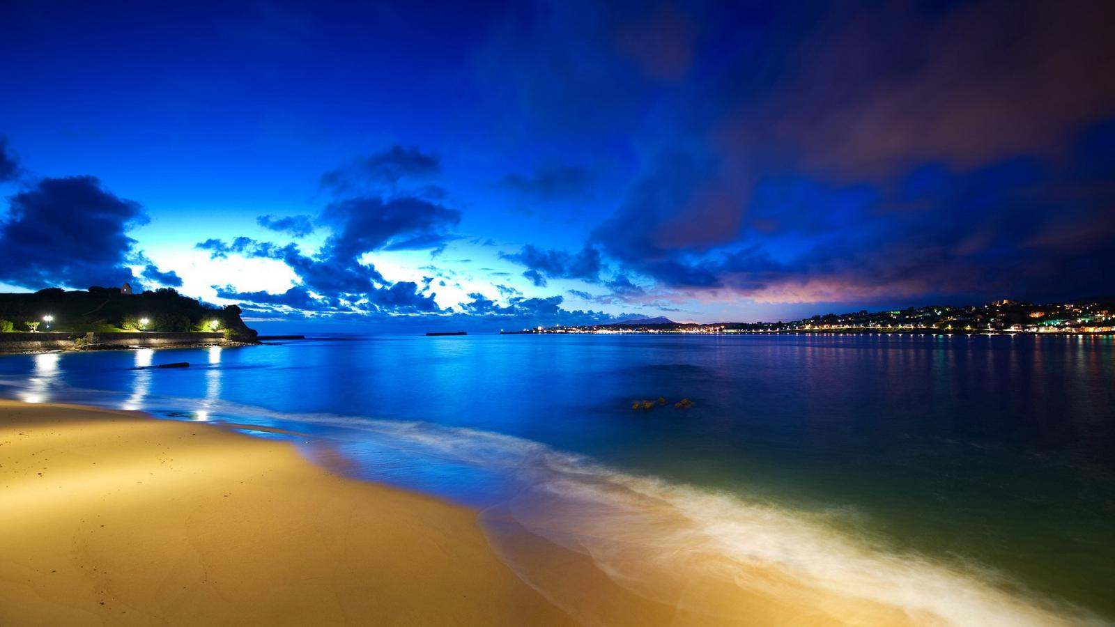 Best Beach Night Wallpaper Android 90