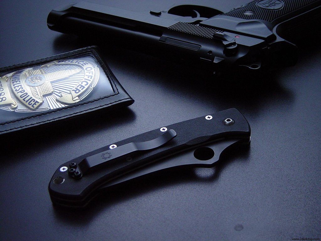 Best Police Pistol Wallpaper HD