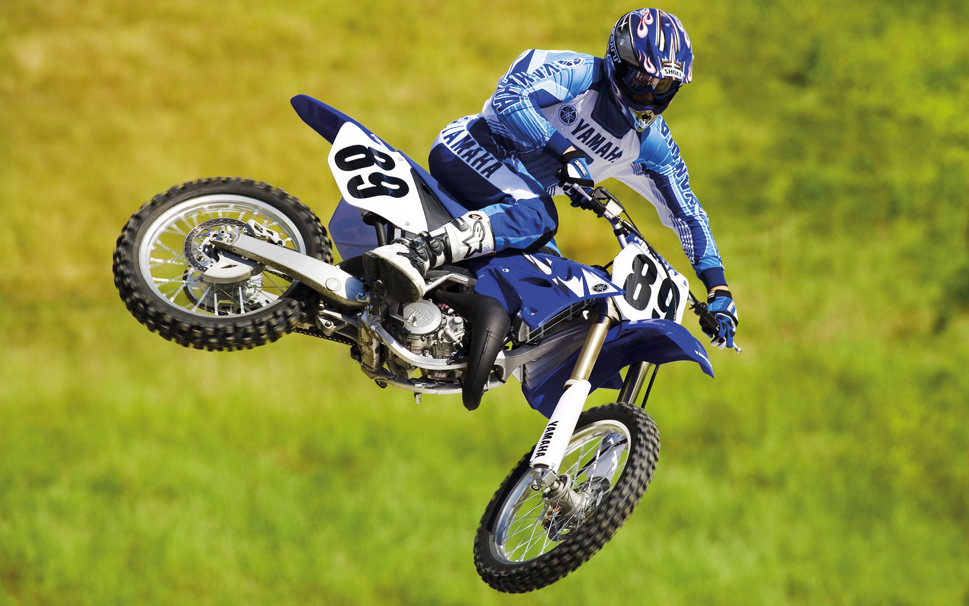 Best Yamaha Motocross Biker Wallpaper