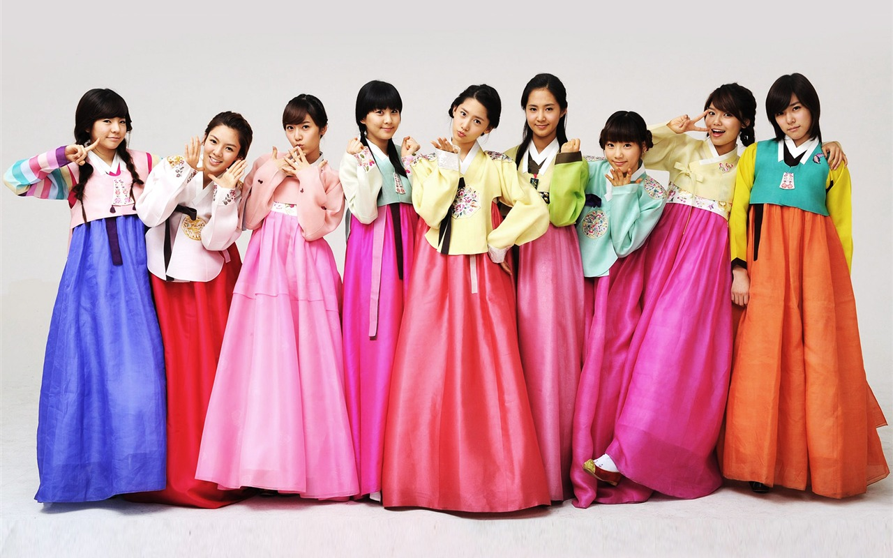 Cute Girl Generation Wallpaper 9650