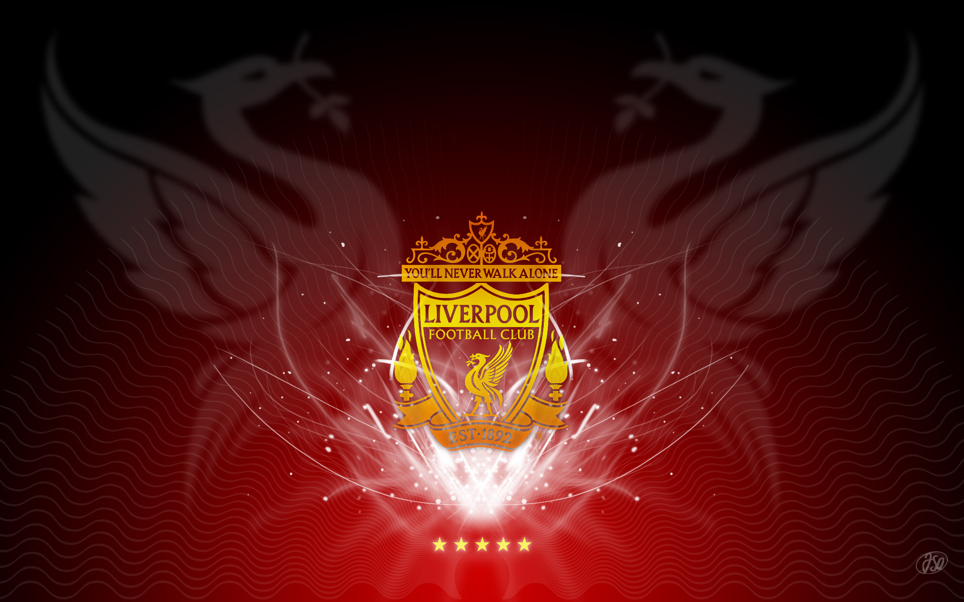 Liverpool 3D Wallpaper Football