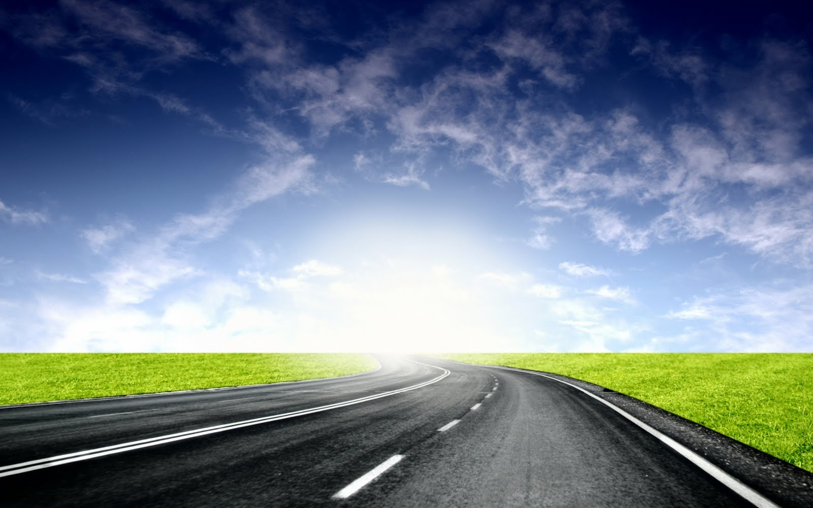 Long Road Wallpaper PC