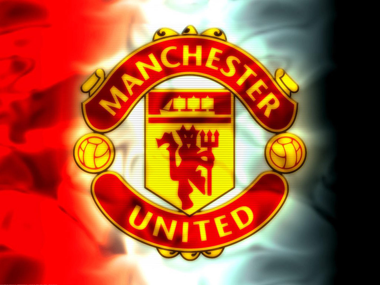 Manchester United Flag Wallpaper