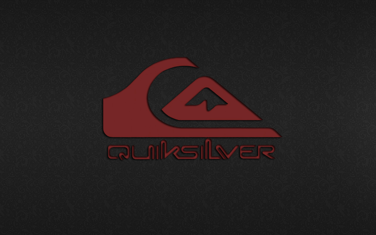 Red Quiksilver Logo Wallpaper HD