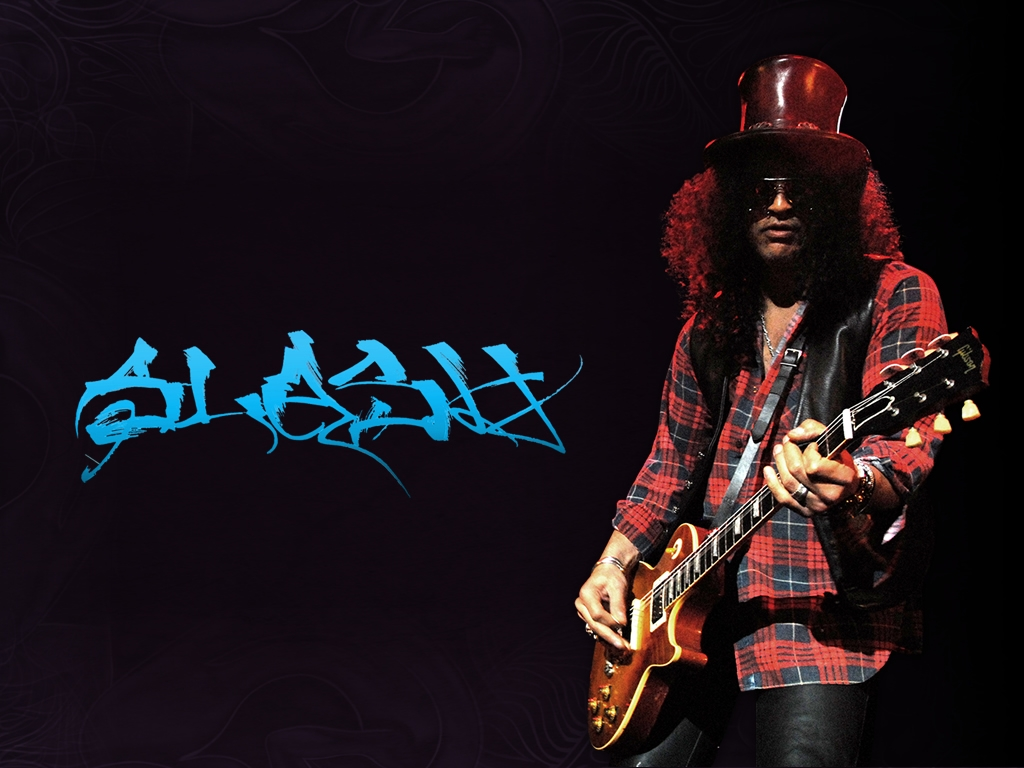 Slash Best Guitarist Wallpaper Image