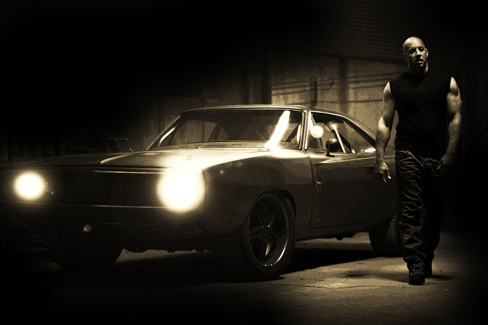 Vin Diesel Car Wallpaper Photos