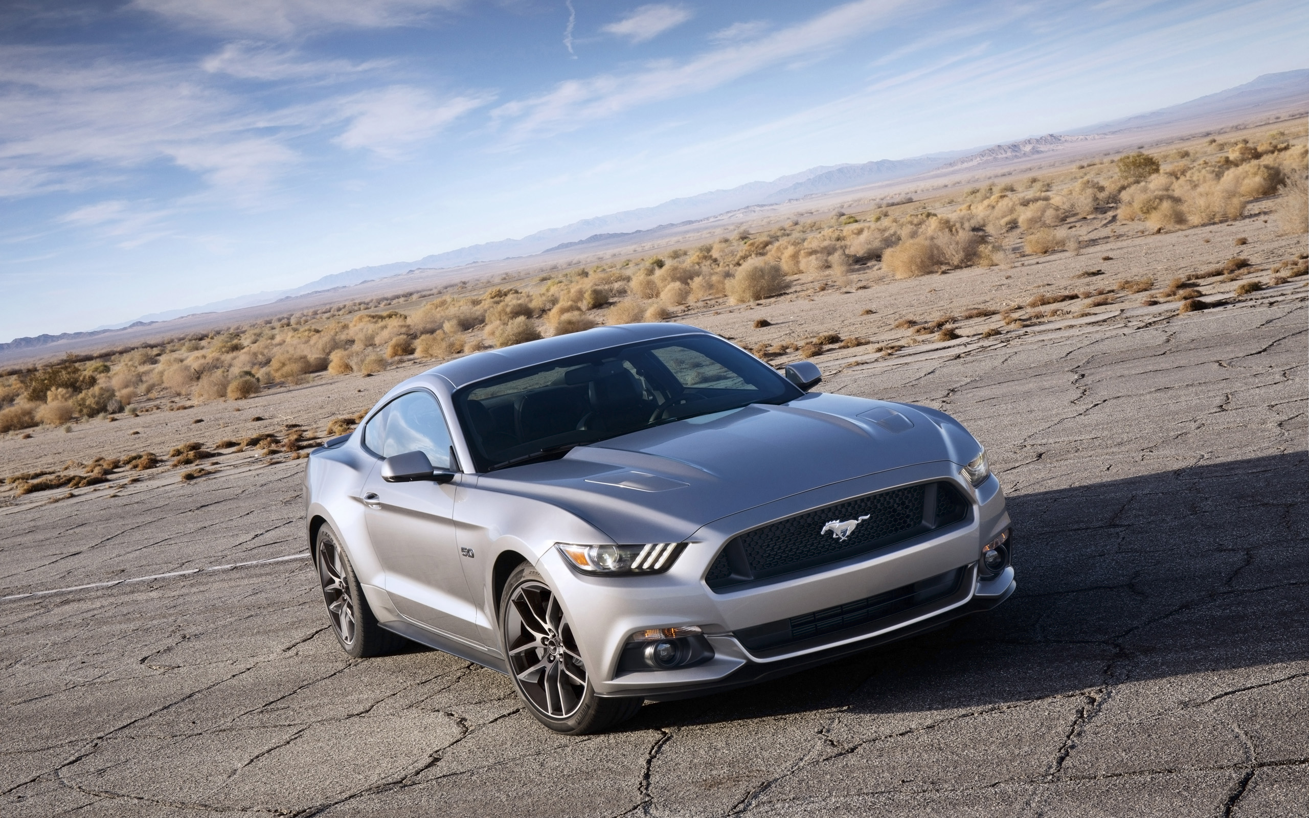 2015 Ford Mustang Widescreen Wallpaper