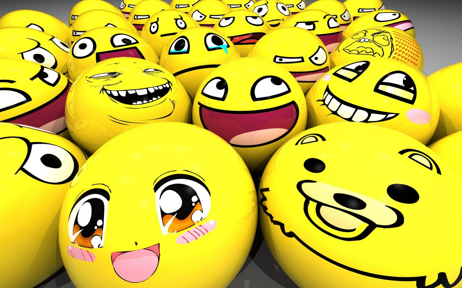All Funny Smiley Wallpaper HD