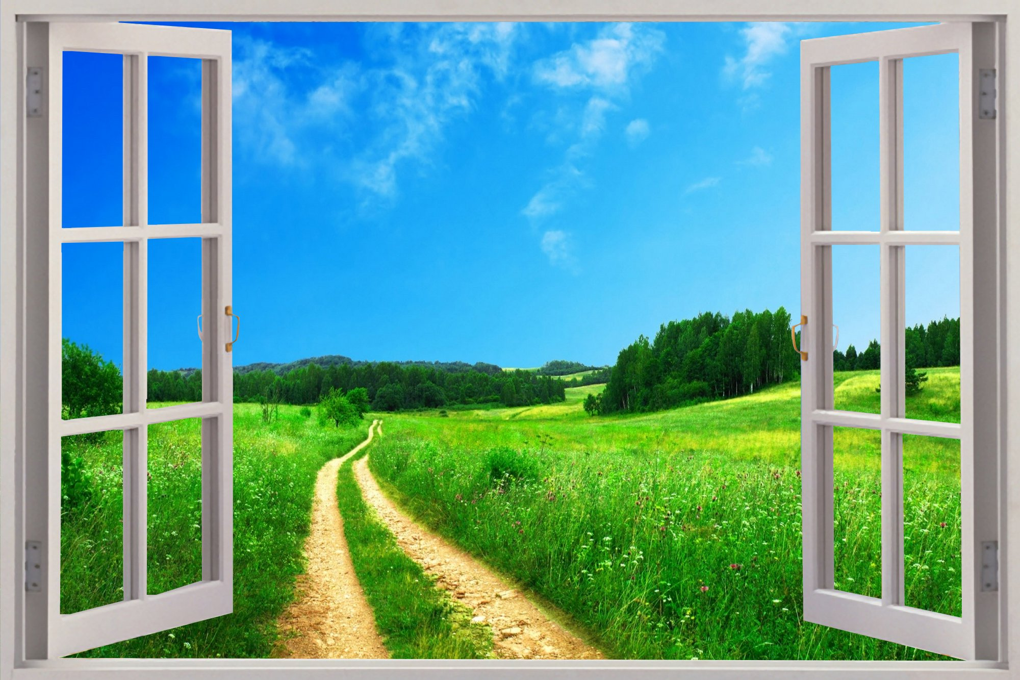 Beautiful view window wallpaper wide wallpaper wallpaperlepi for Definition for mural