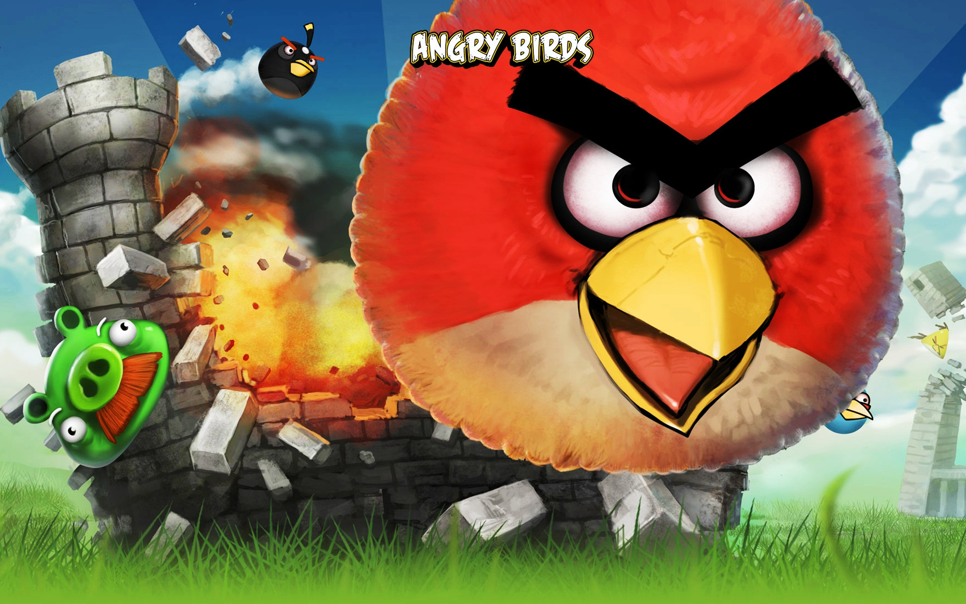 Best Angry Bird Wallpaper for Desktop