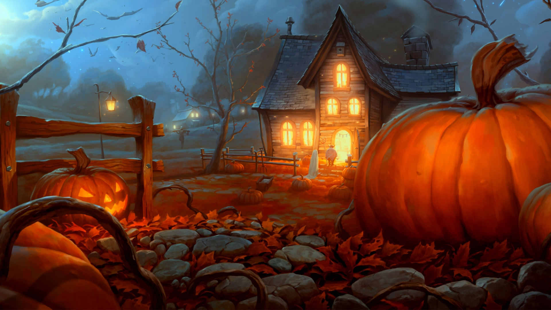 Best Halloween Night Wallpaper HD