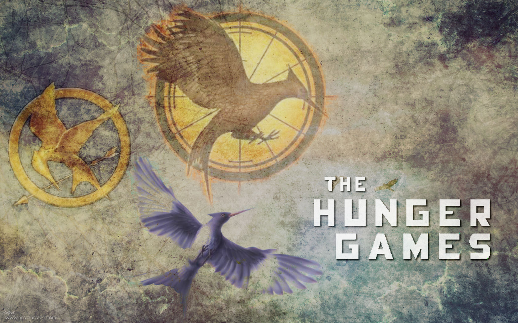 Best Hunger Game Logo Wallpaper