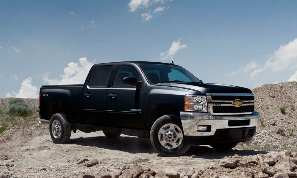 Black Chevrolet Silverado Wide Wallpaper
