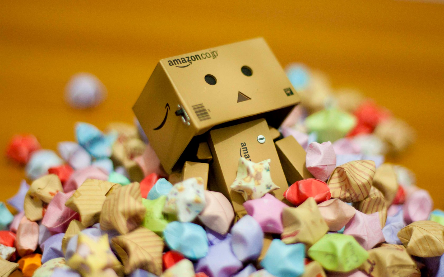 Danbo And Candy Cute Wallpaper Image