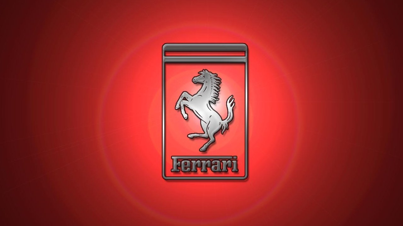 Ferrari Logo Widescreen Wallpaper