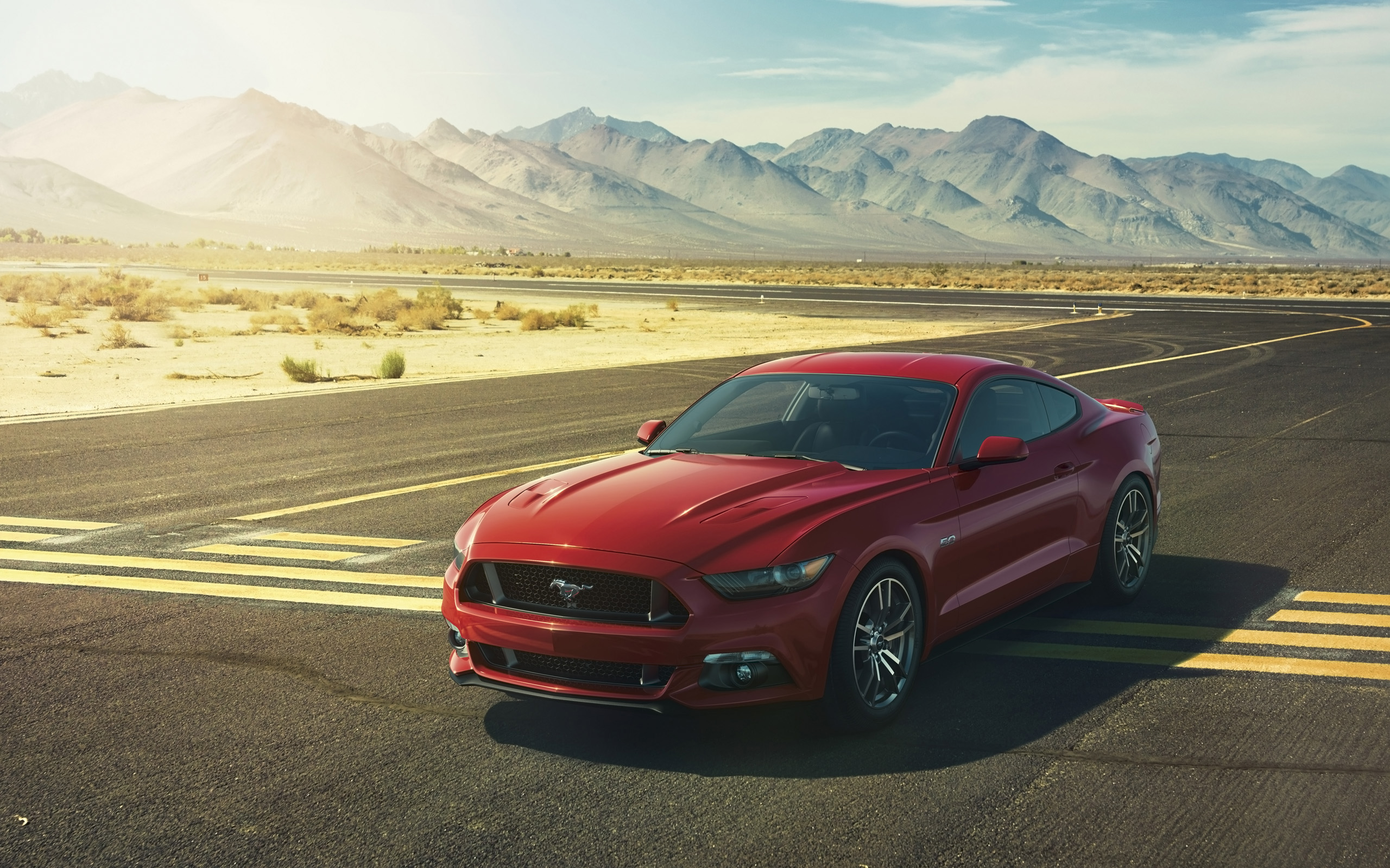 Ford Mustang 2015 Wallpaper for iPhone