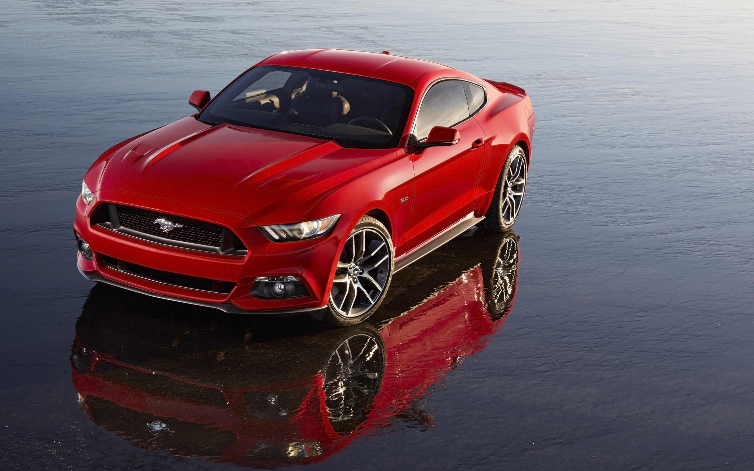 Ford Mustang Reflection Wallpaper Android