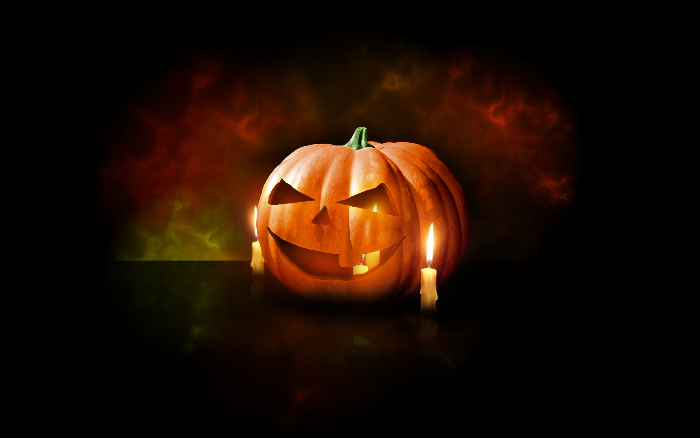 Happy Halloween Dark Night Wallpaper