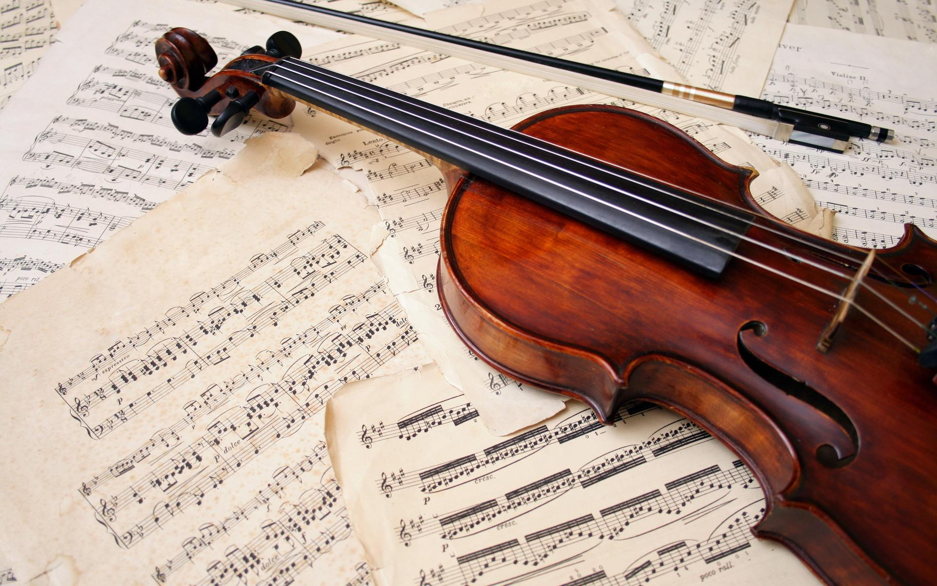 Instrument Tone Violin Wallpaper