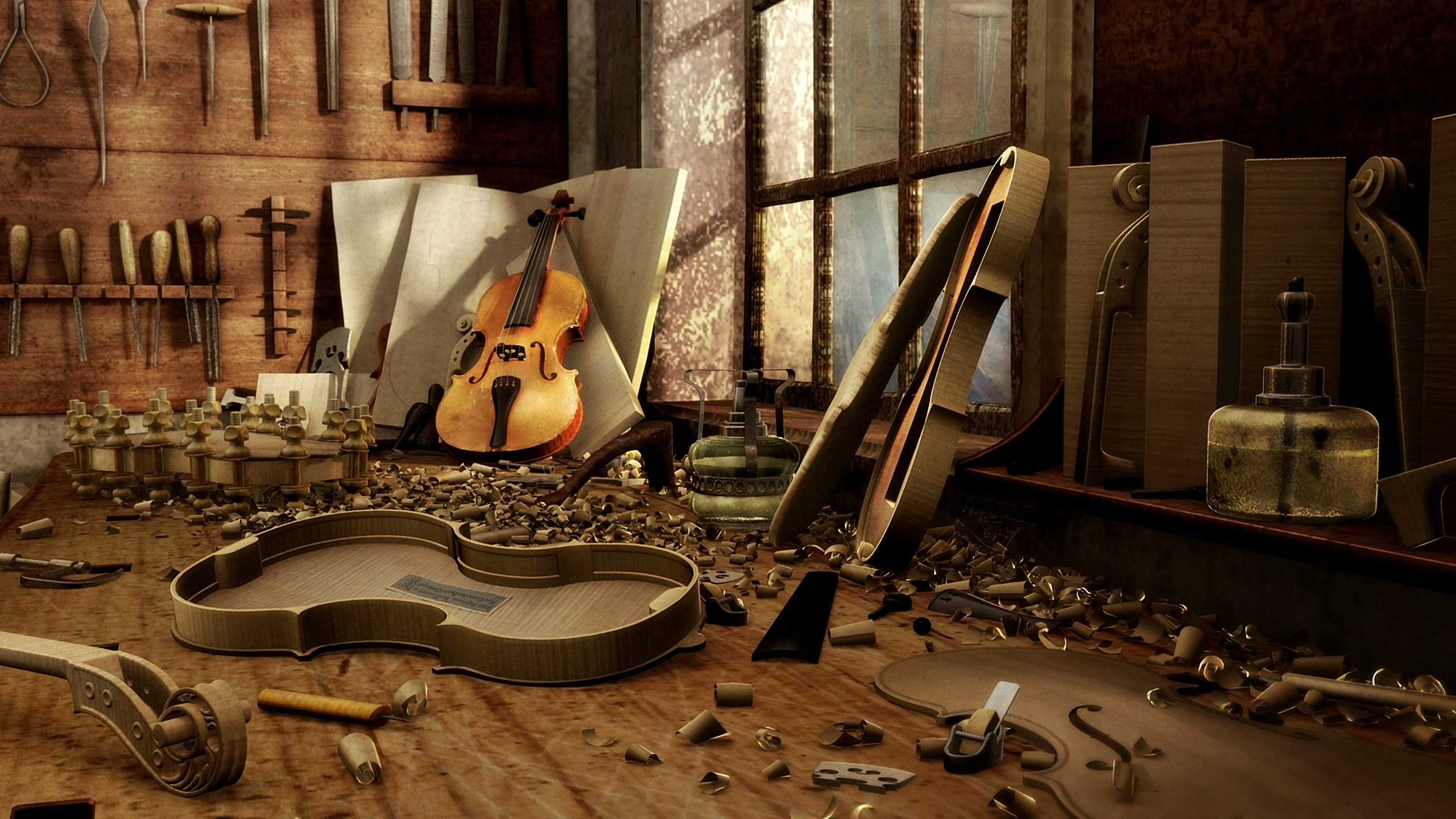 Make A violins Wallpaper Image