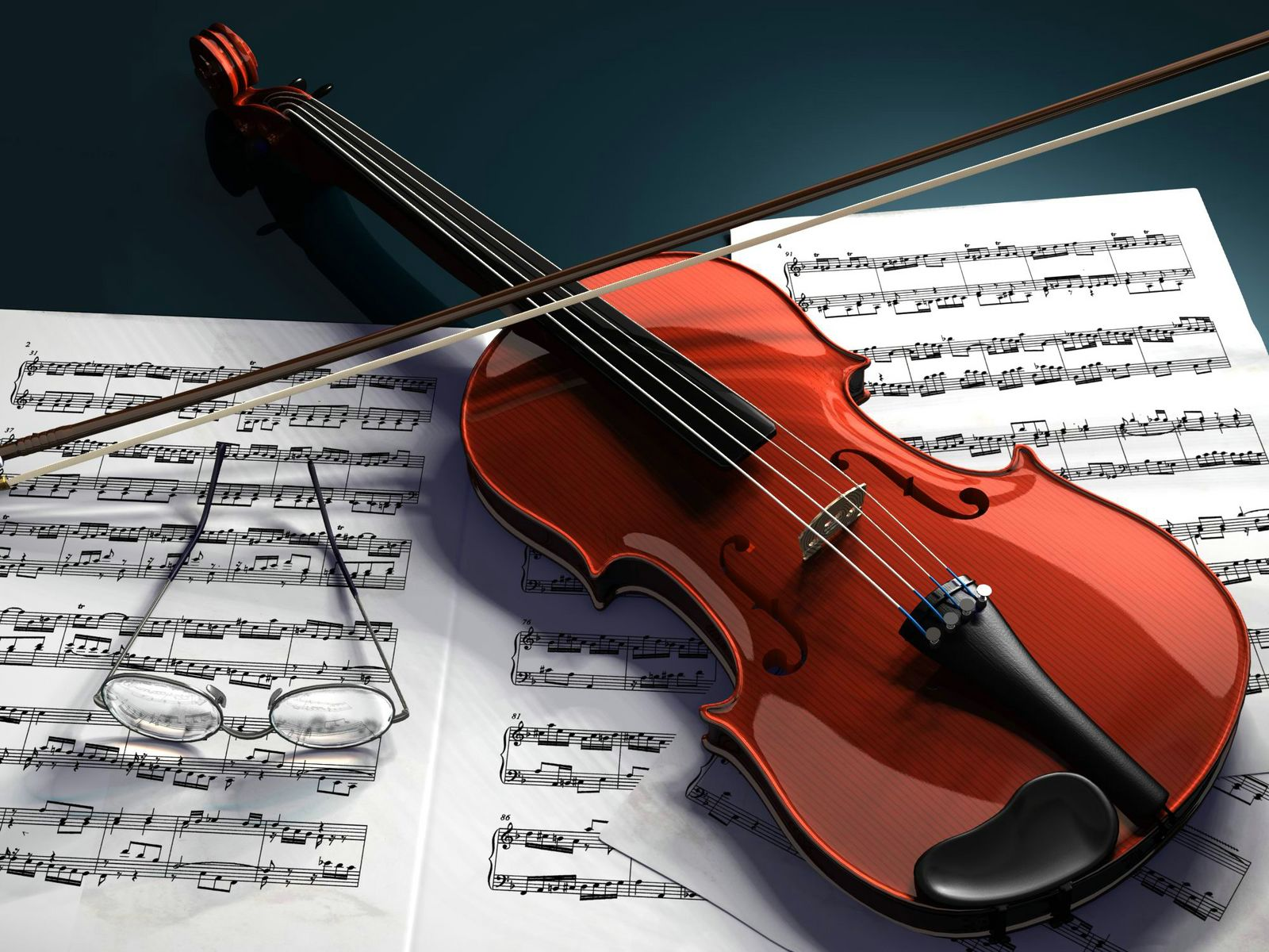 Ready Playing Violin Instrument Music Wallpaper