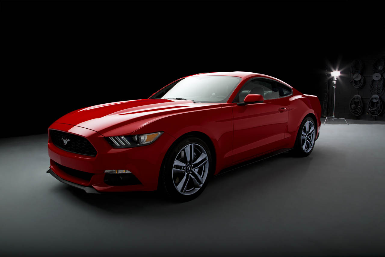 Red Mustang 2015 Wallpaper PC