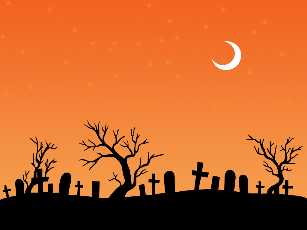 Simple Halloween Night Wallpaper