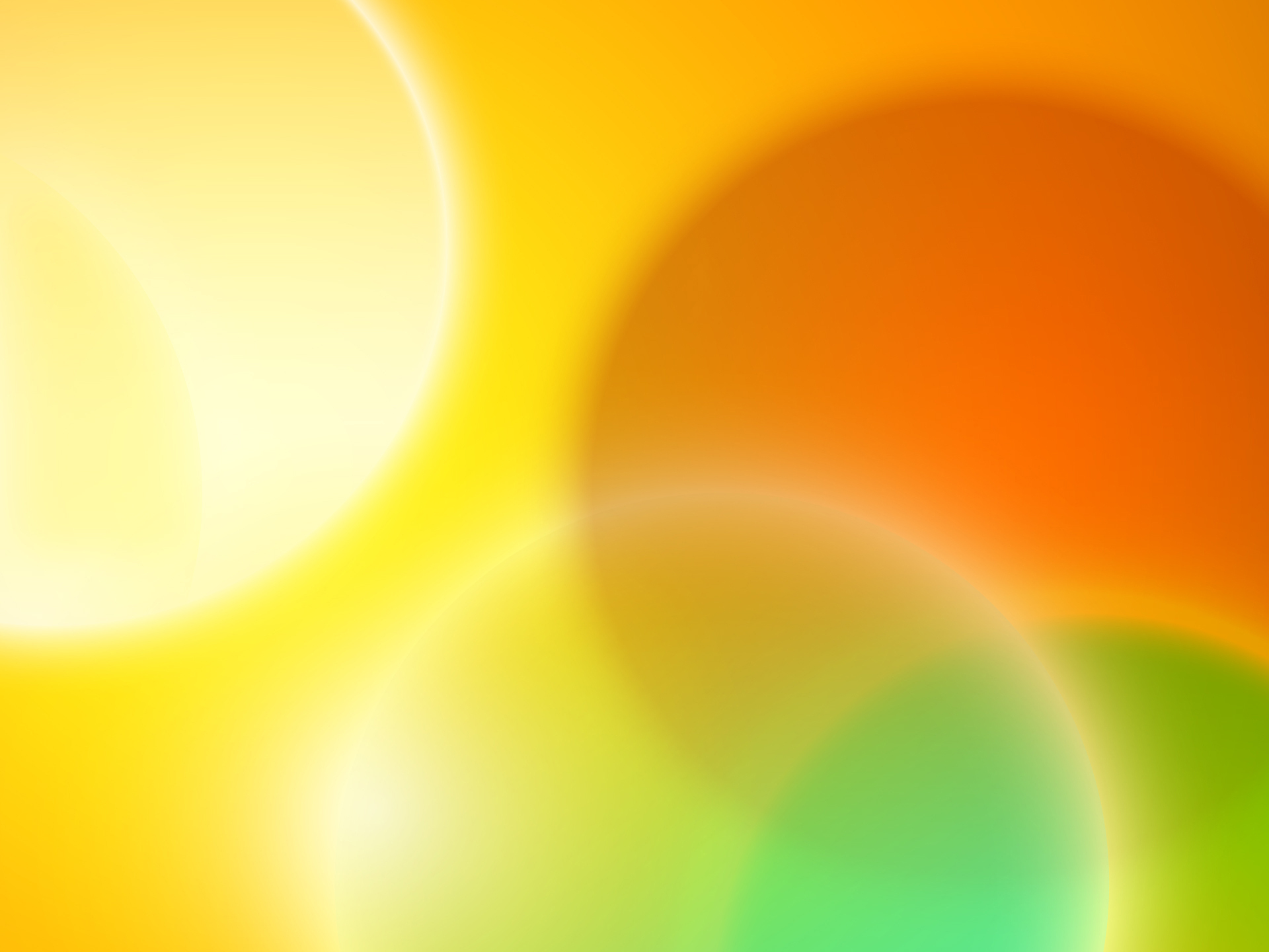 Yellow And Orange Background Wallpaper