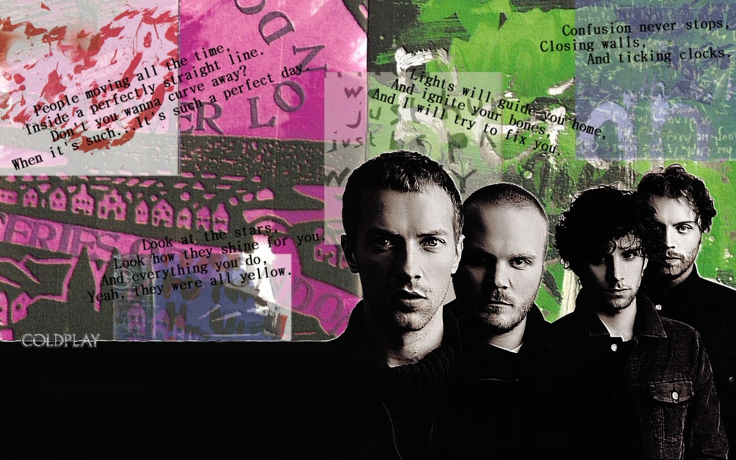 Coldplay Band Image Wallpaper Free