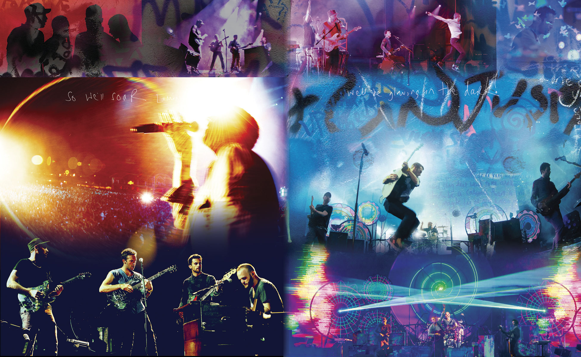 Coldplay Live Consert Wallpaper Pc