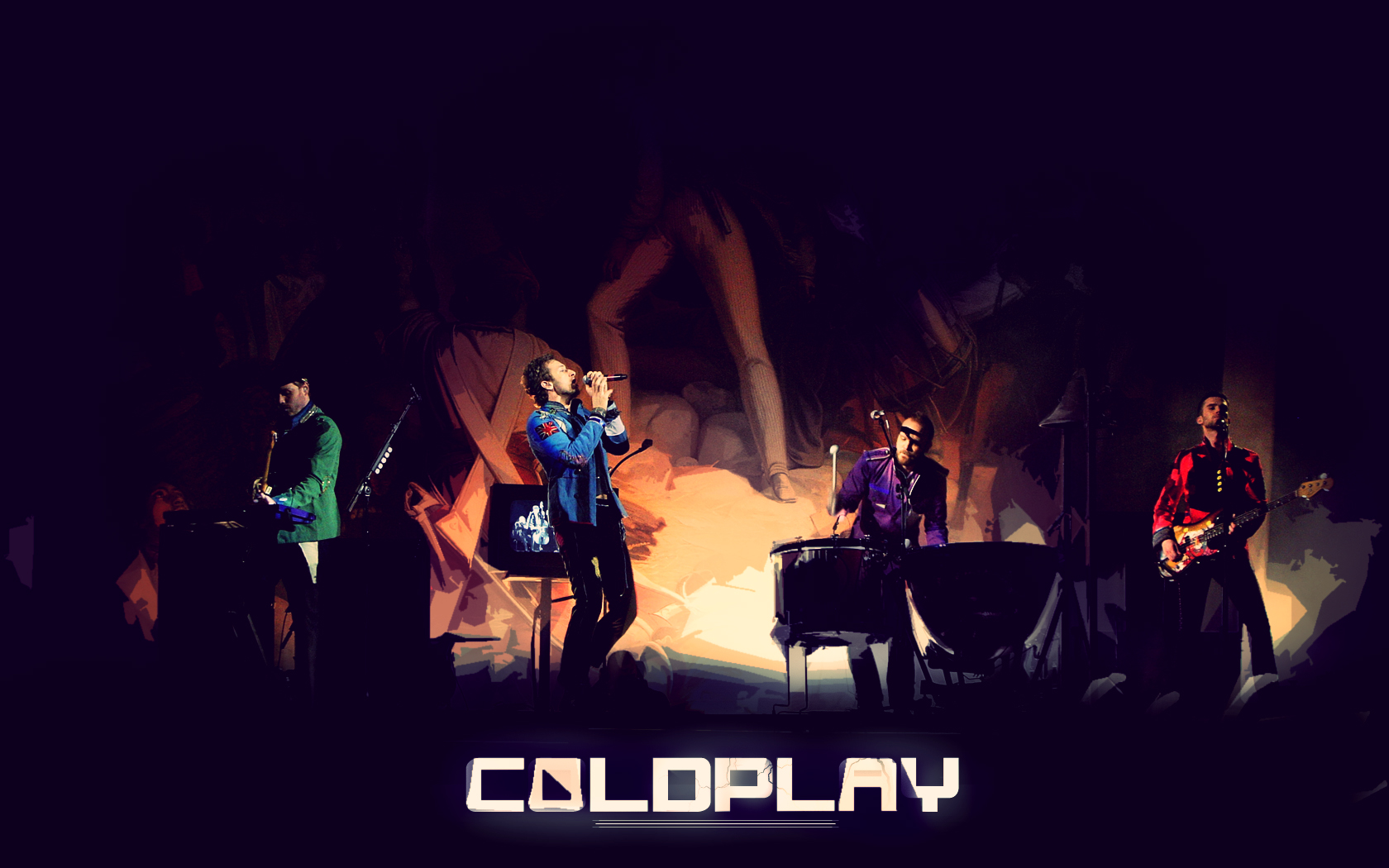 Coldplay Music Wallpaper HD