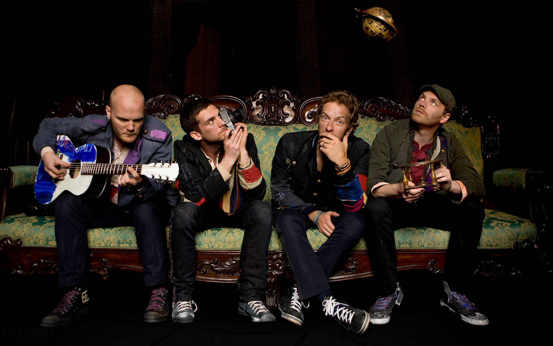 Cool Pose Coldplay Wallpaper HD