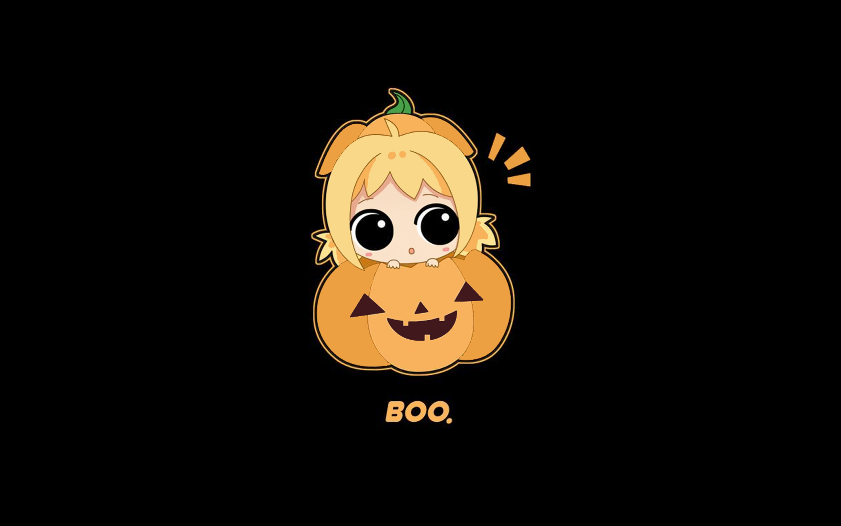 Cute Girl Halloween Wallpaper iPhone