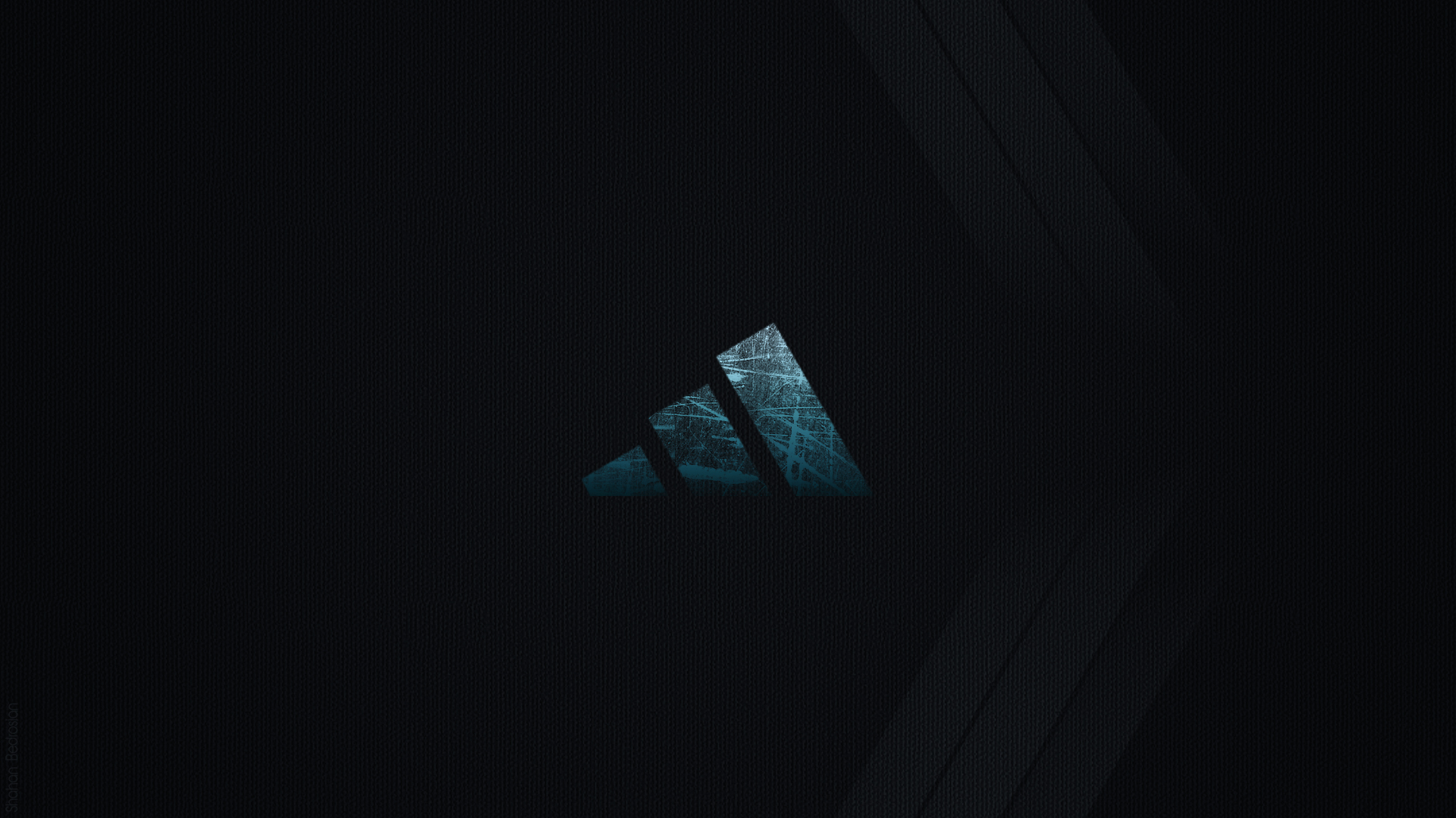 Dark Adidas Logo Wallpaper HD