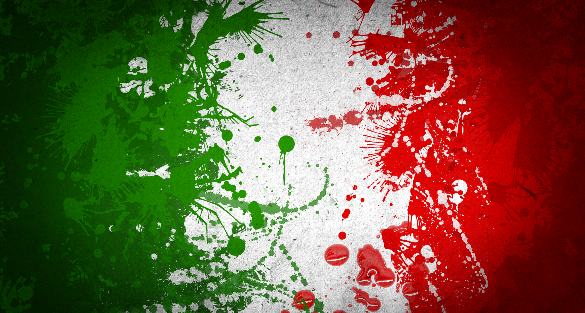 Italy Art Flag Wallpaper