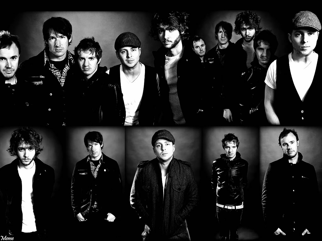 OneRepublic Photos Black And White Wallpaper