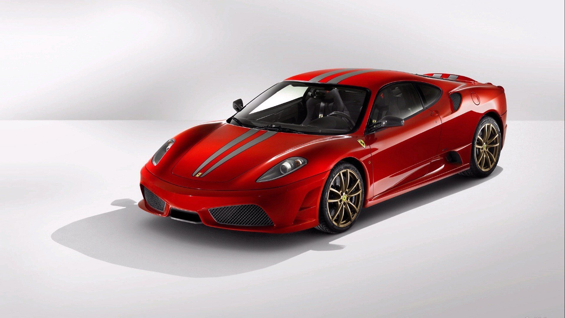 Red Ferrari F430 Wallpaper Wide