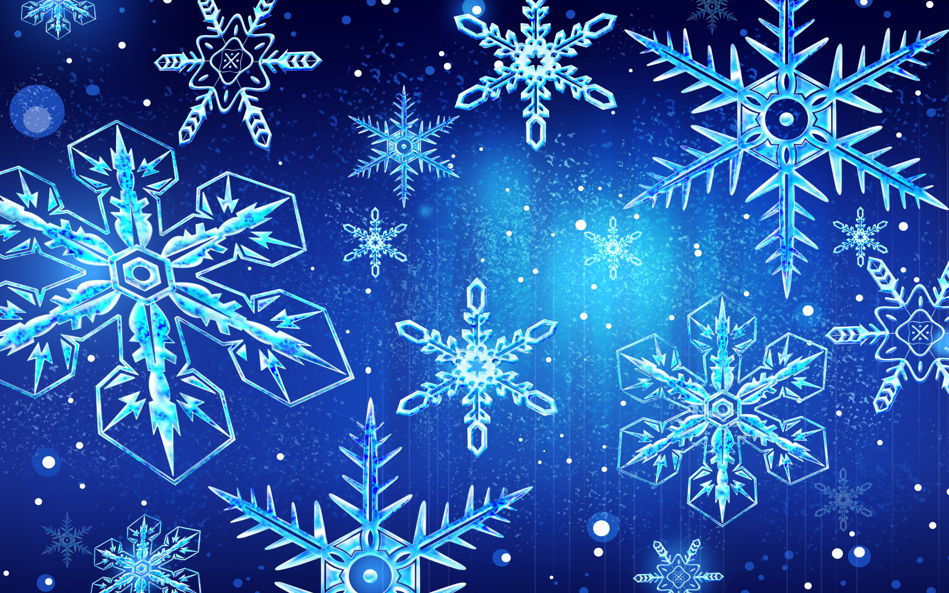 Snowflake Frozen 2D Wallpaper