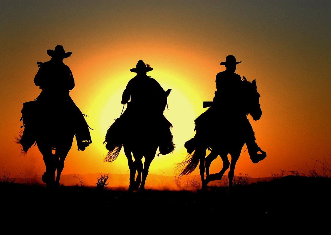 Three Cowboy Wallpaper Desktop