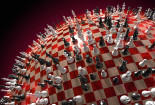 Awesome Chess 3D Wallpaper
