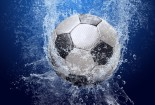 Ball On Water Wallpaper Football