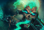 Cool Painting Skull Wallpaper Desktop