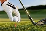 Playing Golf Sport Wallpaper Wide