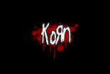 Red Black Korn Logo Wallpaper