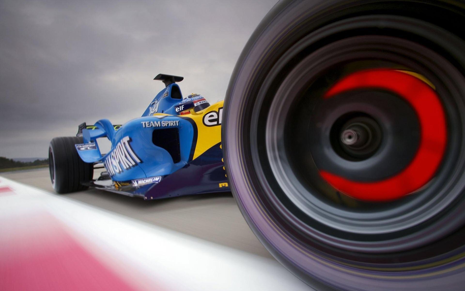 Team Spirit Formula 1 Wallpaper Desktop Wallpaper