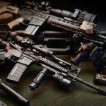 Three Airsoft Gun Wallpaper Android