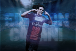 Edinson Cavani PSG Team Wallpaper